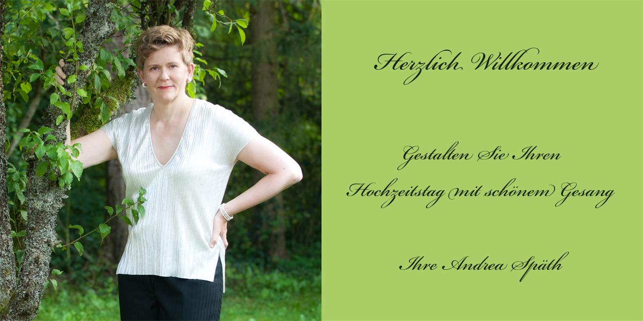 Andrea Späth Portrait Gesang Hochzeitstag